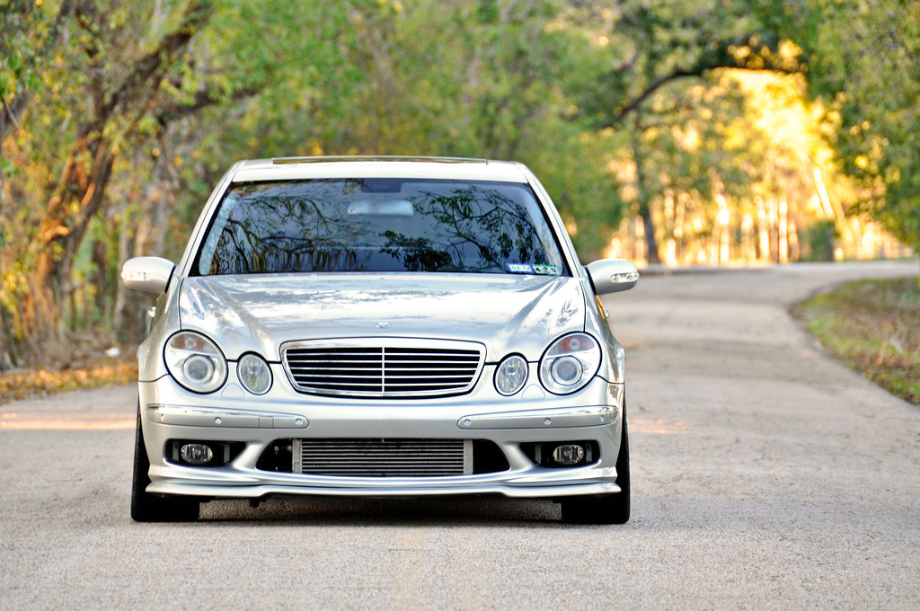 Mercedes E55 AMG: sleeper [shoot by billy]